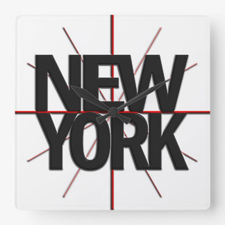 New York Timezone Wall Clock