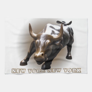 New York Towel Personalized NYC Souvenir Tea Towel
