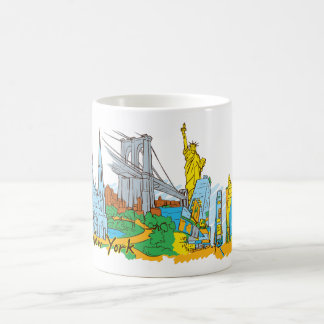 New York, United States Coffee Mug