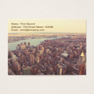 New York, USA Business Card