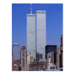 New York, USA. Twin towers of the famous World