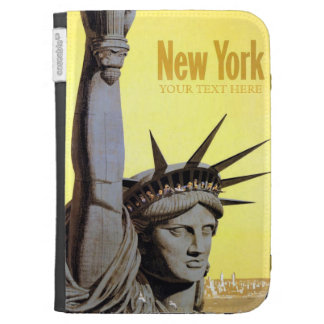 New York USA Vintage Travel cases Kindle Covers