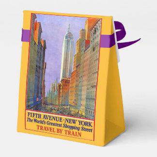 New York USA Vintage Travel favor box