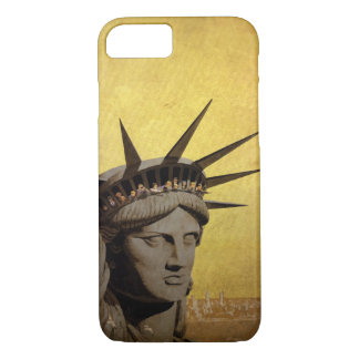 New York - vintage style design iphone 7 case