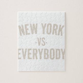 New York Vs Everybody Jigsaw Puzzle
