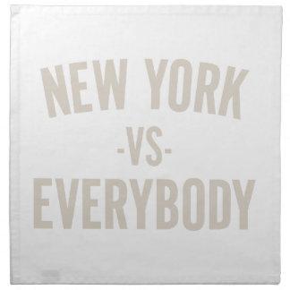 New York Vs Everybody Napkin