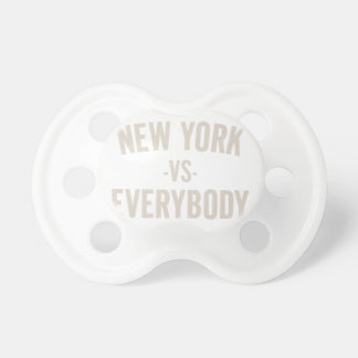 New York Vs Everybody Pacifier