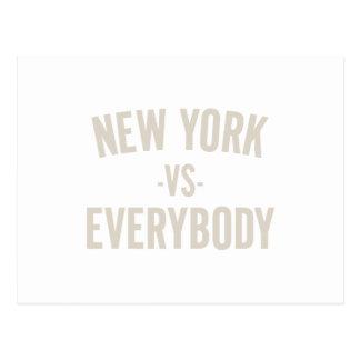 New York Vs Everybody Postcard