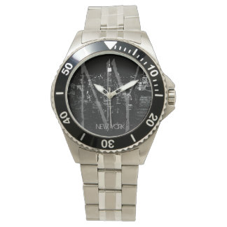 New York Watch NY Empire State Souvenir Wristwatch