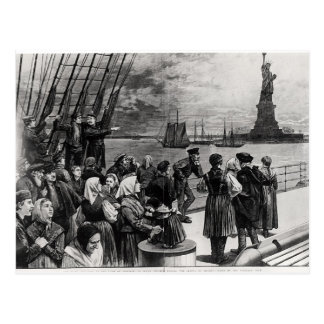 New York - Welcome to the land of freedom Postcard
