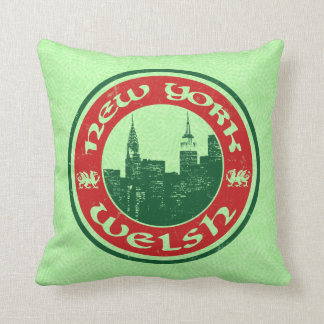 New York Welsh American Cushion