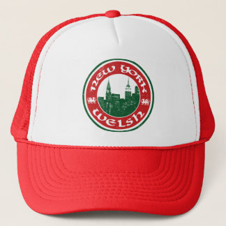 New York Welsh American Trucker Hat