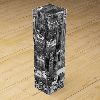 New York Wine Box Customize New York Souvenir