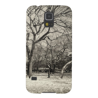 New York Winter - East Village Snow Galaxy S5 Covers