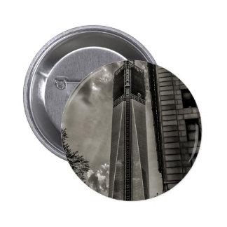 New York World Trade Center Freedom Tower 2 Inch Round Button