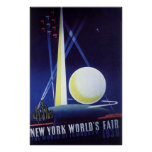 New York World's Fair 1939 Posters
