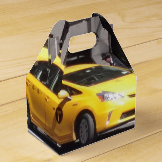 NEW YORK YELLOW CAB/TAXI PARTY FAVOR FAVOR BOX