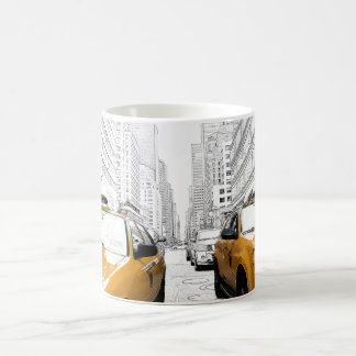 """""""New York Yellow Cabs"""" from Rosina by soulvisible Coffee Mug"""