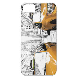 """New York Yellow Cabs"" iPhone 5 Cover"