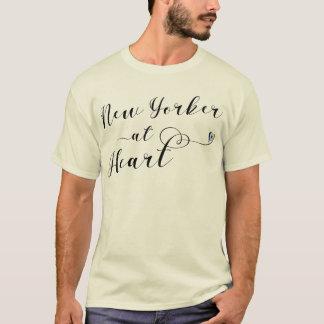 New Yorker At Heart T-Shirt, NYC T-Shirt