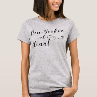 New Yorker At Heart Tee Shirt, NYC