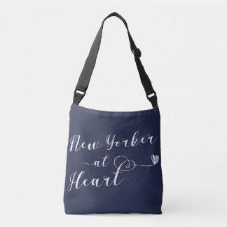 New Yorker At Heart Tote Bag, NYC