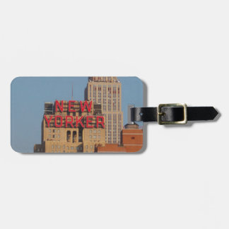 New Yorker Luggage Tag