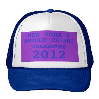 NEW YORK'S, ARNOLD CHIARI, AWARENES  2012 TRUCKER HAT