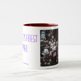 New York's Finest Mother Two-Tone Coffee Mug