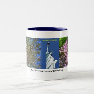 New York's Greatest Mom Two-Tone Coffee Mug