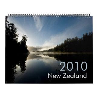 New Zealand 2010 Calendar