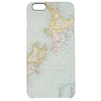 New Zealand 4 Clear iPhone 6 Plus Case