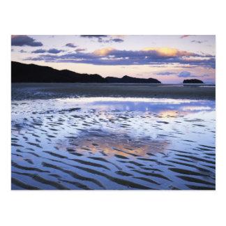 New Zealand, Abel Tasman National Park, Coast Postcard