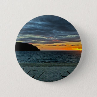 New Zealand Abel Tasman Sunset 2 Inch Round Button