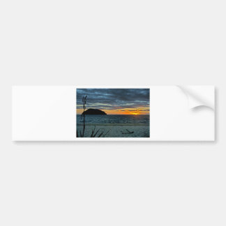 New Zealand Abel Tasman Sunset Bumper Sticker
