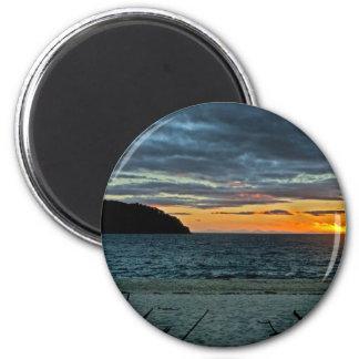 New Zealand Abel Tasman Sunset Magnet