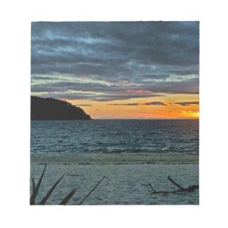 New Zealand Abel Tasman Sunset Notepad