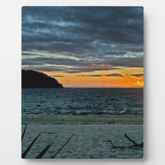New Zealand Abel Tasman Sunset Plaque