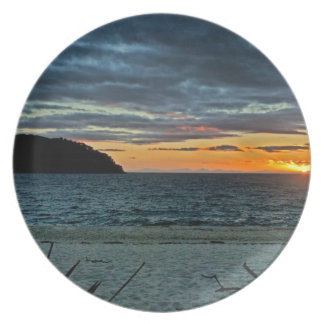 New Zealand Abel Tasman Sunset Plate