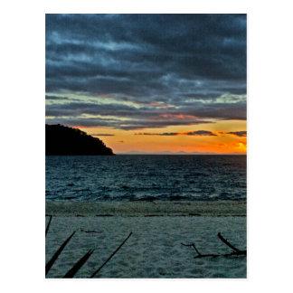 New Zealand Abel Tasman Sunset Postcard