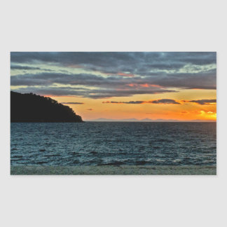 New Zealand Abel Tasman Sunset Sticker