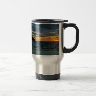 New Zealand Abel Tasman Sunset Travel Mug