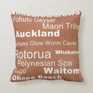 New Zealand Accent Pillow