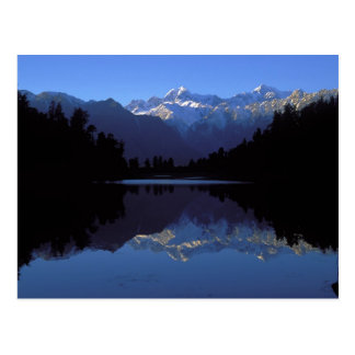 New Zealand Alps Postcard