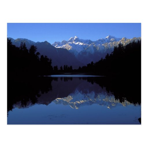 New Zealand Alps Post Card
