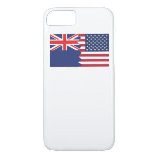 New Zealand American Flag iPhone 7 Case