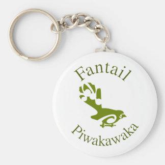New Zealand Aotearoa Fantail Keychain