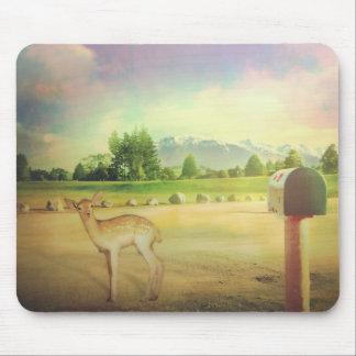 New Zealand bambi dear Mouse Pad