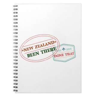 New Zealand Been There Done That Notebook