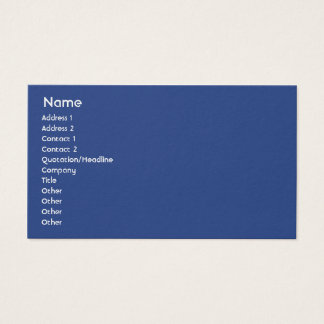 New Zealand - Business Business Card